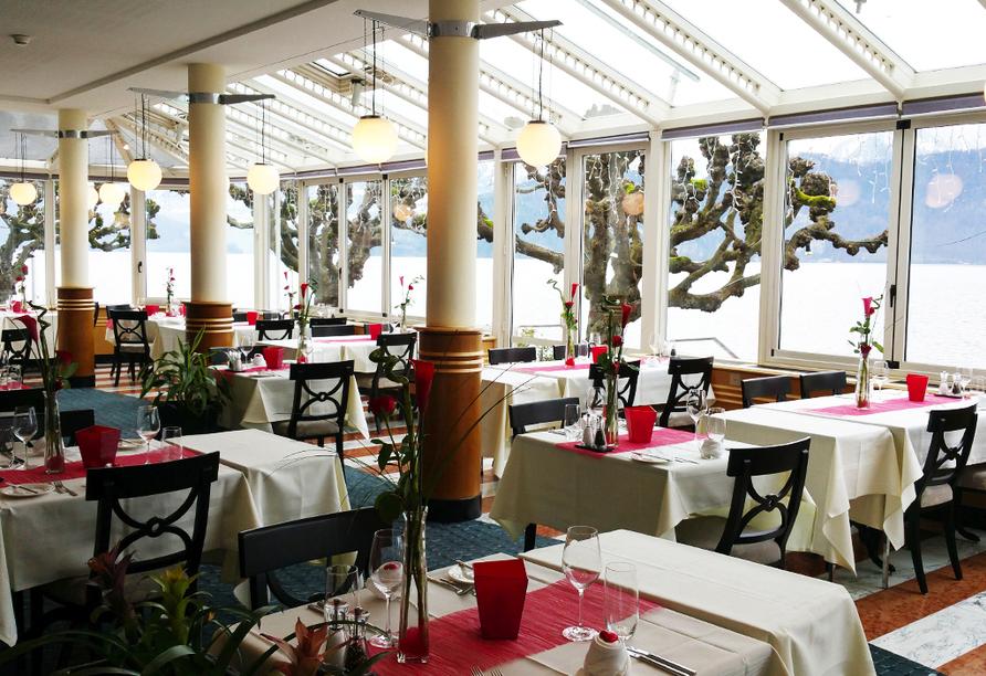 Rundreise Schweizer Seenzauber, Restaurant Hotel Central am See & Hotel Frohburg