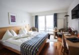 Rundreise Schweizer Seenzauber, Beispiel eines Doppelzimmers Hotel Central am See & Hotel Frohburg