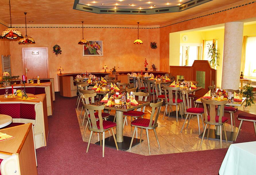 Hotel Riedel in Zittau in der Oberlausitz Restaurant