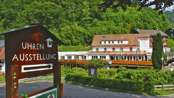 Hotel Schondelgrund in Hornberg im Schwarzwald, Außenansicht