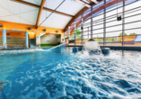 Hotel SKAL in Henkenhagen, Aquapark Helios, Hallenbad
