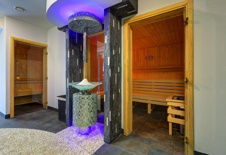 Hotel SKAL in Henkenhagen, Sauna