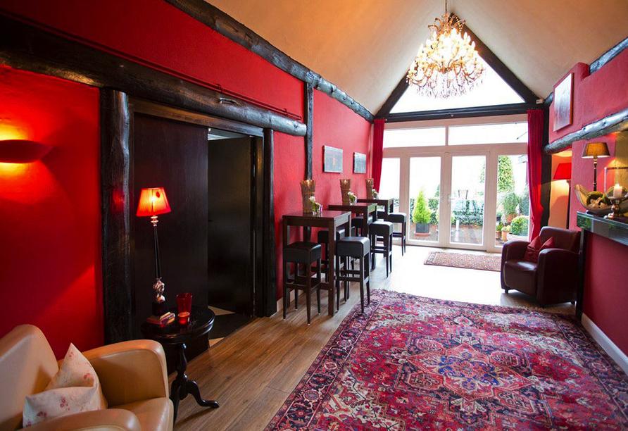 Hotel Moselblick in Winningen an der Mosel, Rezeption