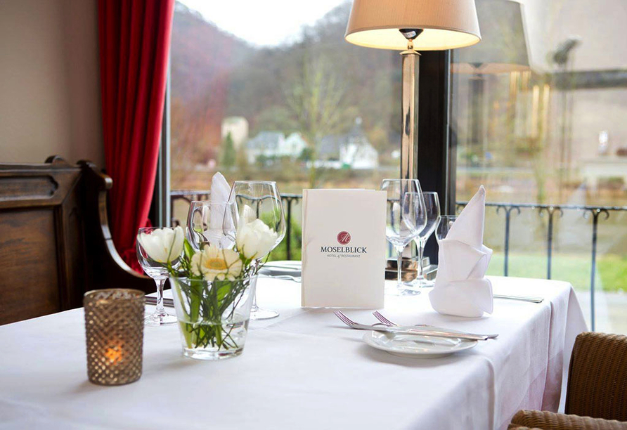 Hotel Moselblick in Winningen an der Mosel, Restaurant