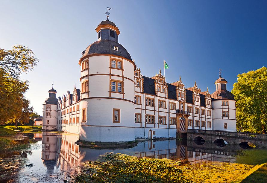 WohlfühlhotelWALDCAFÉ JÄGER in Bad Driburg, Wasserschloss Paderborn