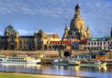 Landhotel Zur Klinke in Bretnig in der Oberlausitz, Ausflugsziel Dresden