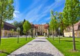 Landhotel Zur Klinke in Bretnig in der Oberlausitz, Barockschloss Rammenau