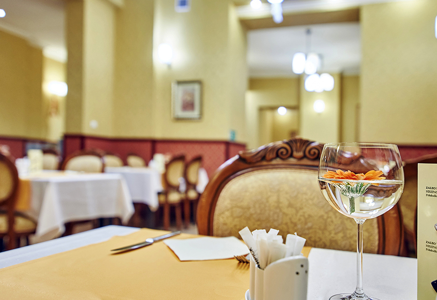 Hotel Jantar Spa in Kolberg, Restaurant