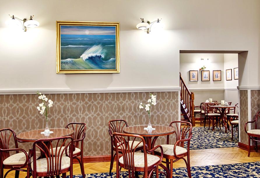 Hotel Jantar Spa in Kolberg, Café