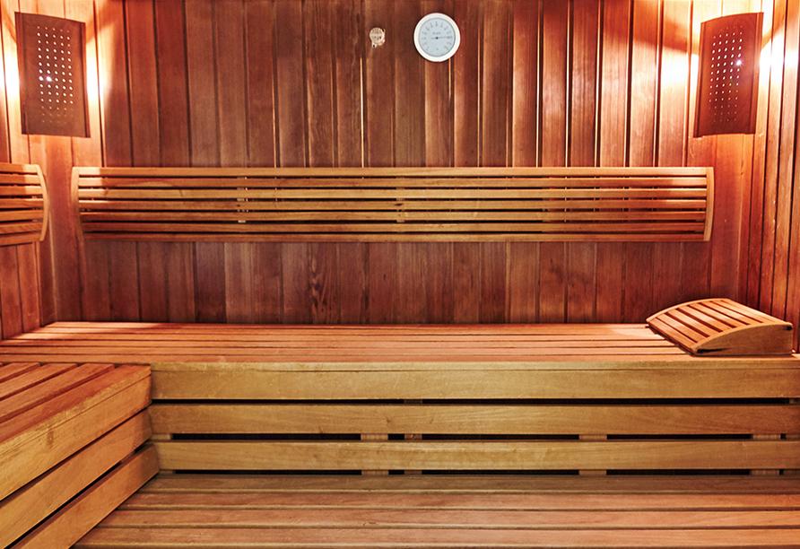 Hotel Jantar Spa in Kolberg, Sauna
