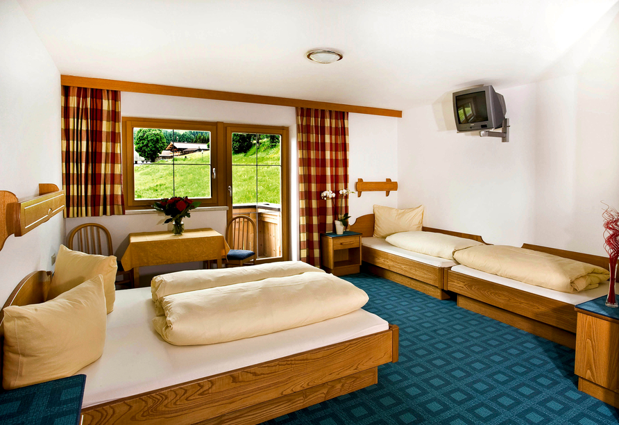 Hotel Almhof-Fichtenhof in Wildschönau-Thierbach in Tirol Zimmerbeispiel