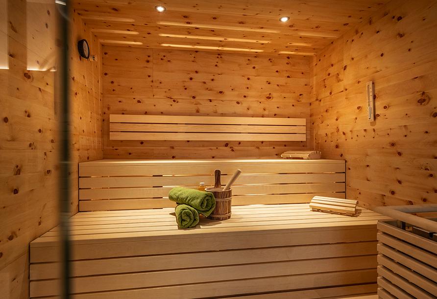 Hotel Almhof-Fichtenhof in Wildschönau-Thierbach in Tirol, Sauna