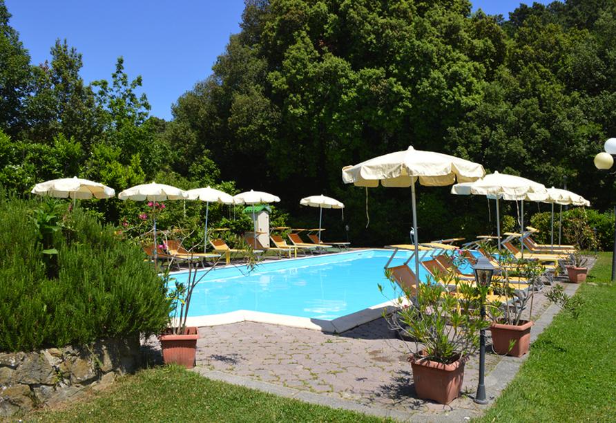 Hotel Monti San Baronto, Pool