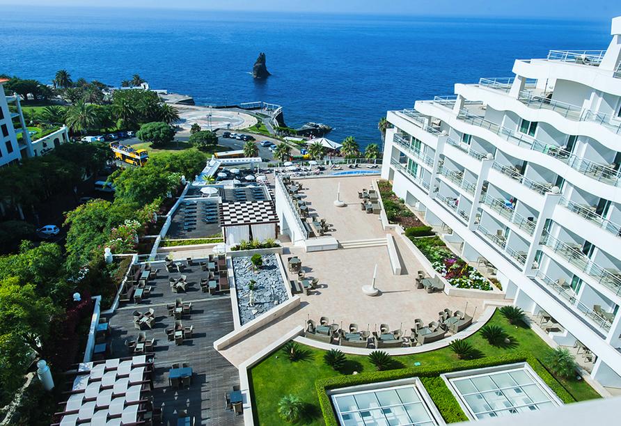 Meliã Madeira Mare Resort & Spa, Außenansicht