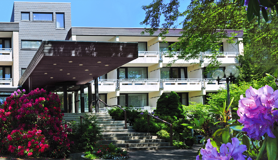 Hotel Bad Stebener Hof in Bad Steben in Oberfranken, Außenansicht