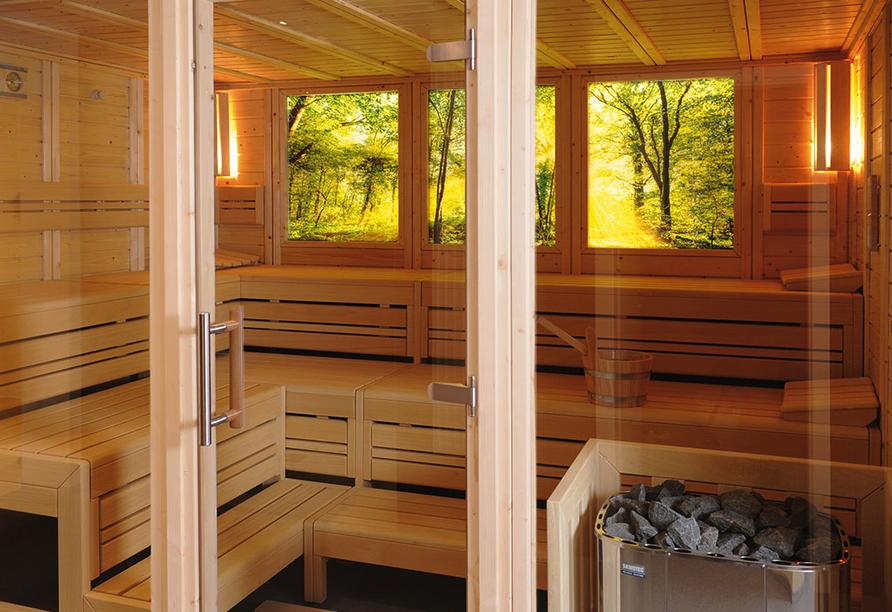 Hotel Bad Stebener Hof in Bad Steben in Oberfranken, Sauna