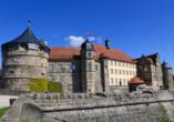 Hotel Bad Stebener Hof in Bad Steben in Oberfranken, Ausflugsziel