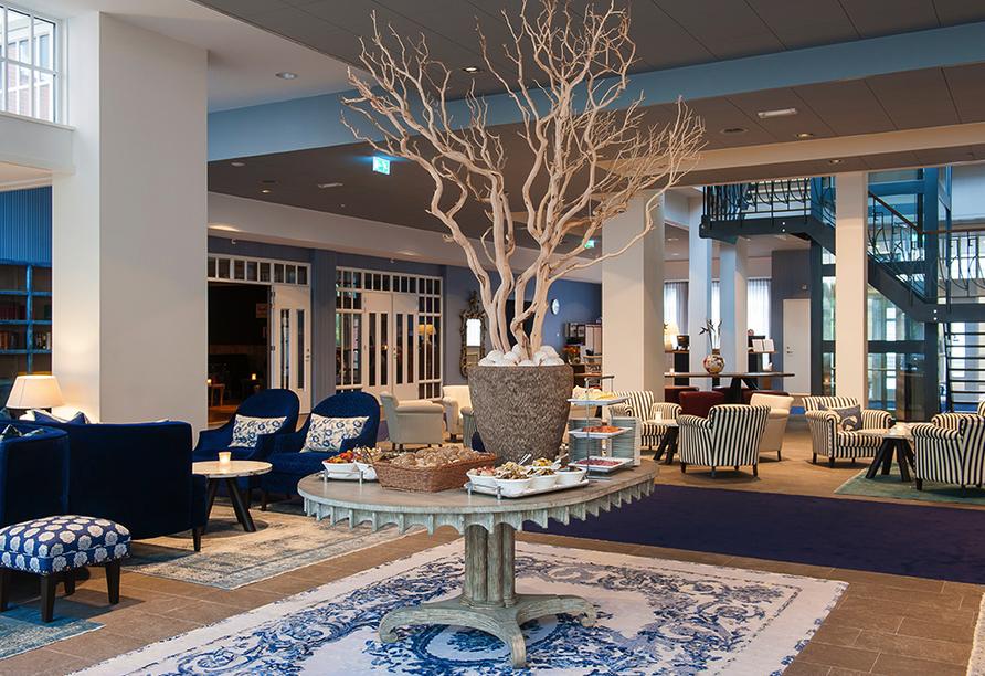Grand Hotel Ter Duin in Burgh-Haamstede Zeeland Lobby