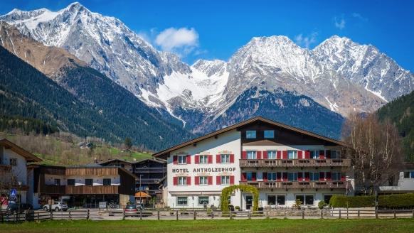 Hotel Antholzerhof in Antholz, Außenansicht