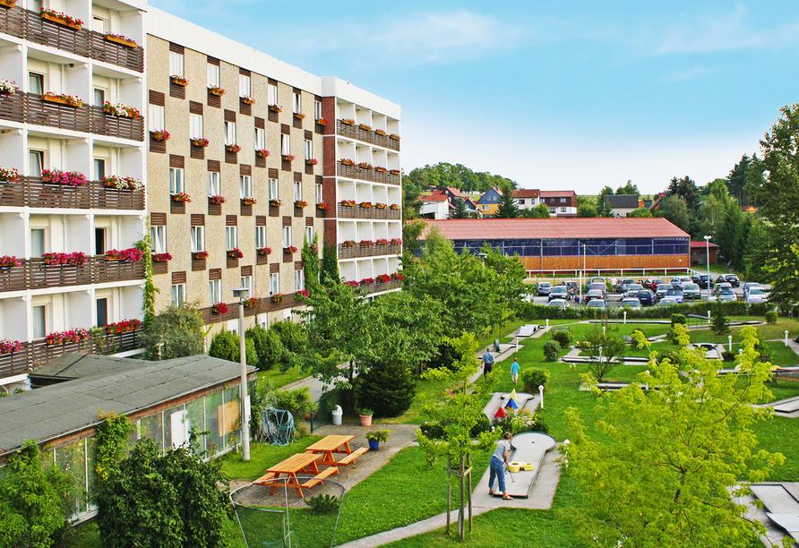 CAREA Harz Hotel Allrode, Außenansicht