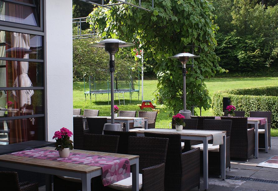 Hotel Rennsteig Masserberg im Thüringer Wald, Terrasse