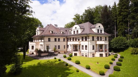 Villa Toscana in Füssen, Außenansicht