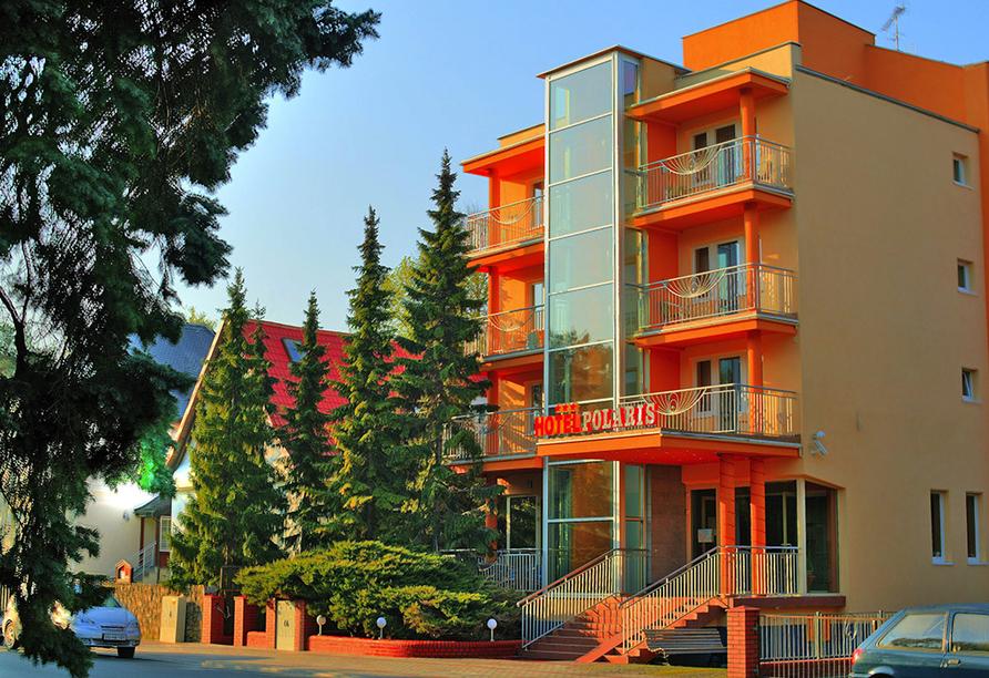 Hotel Polaris in Swinemünde, Außenansicht