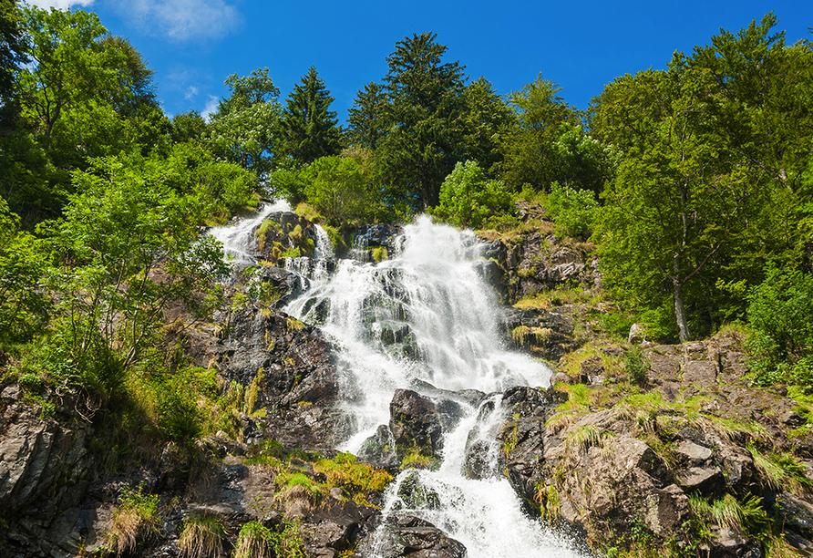 Hotel Löwen, Zell im Wiesental, Schwarzwald, Todtnauer Wasserfall