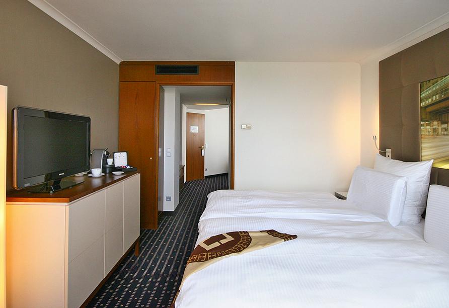 Pullman Hotel Stuttgart Fontana, Stuttgart, Doppelzimmer