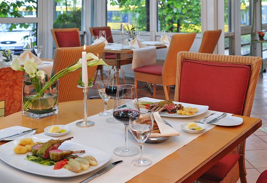 Pullman Hotel Stuttgart Fontana, Stuttgart, Gerichte