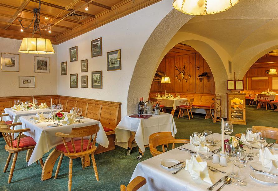 Mercure Hotel Garmisch-Partenkirchen in Bayern, Restaurant