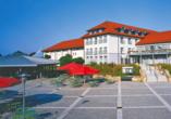 Victor's Residenz-Hotel Teistungenburg, Außenansicht