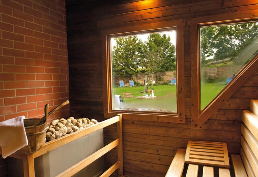 Victor's Residenz-Hotel Teistungenburg, Sauna