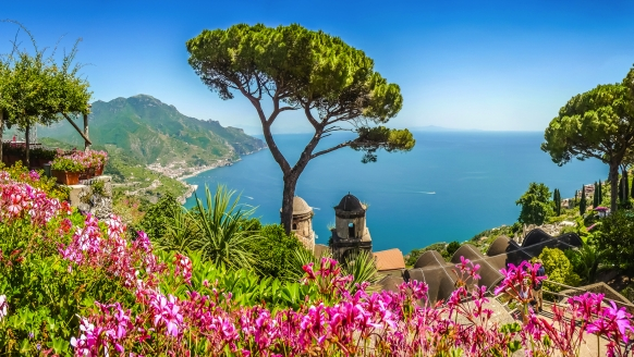 Erlebnisreise am Golf von Neapel, Villa Rufolo