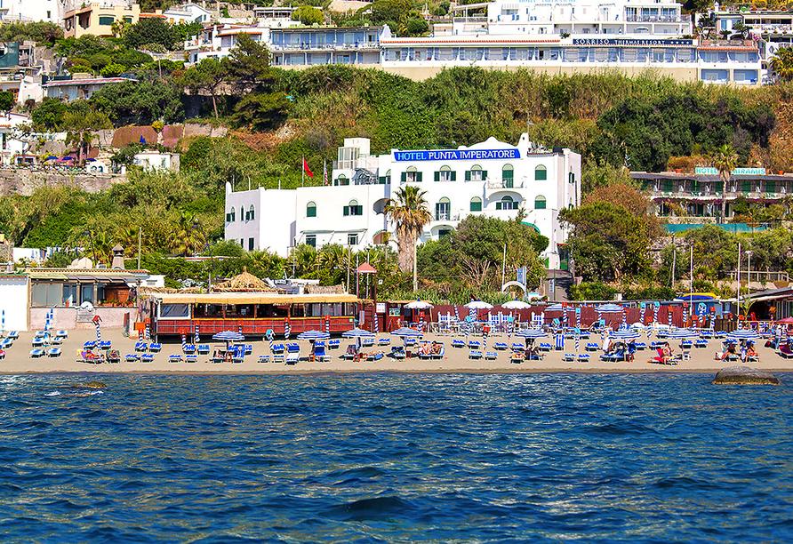 Hotel Punta Imperatore Forio d'Ischia, Außenansicht
