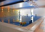 Hallenbad im aqualux Wellnesshotel