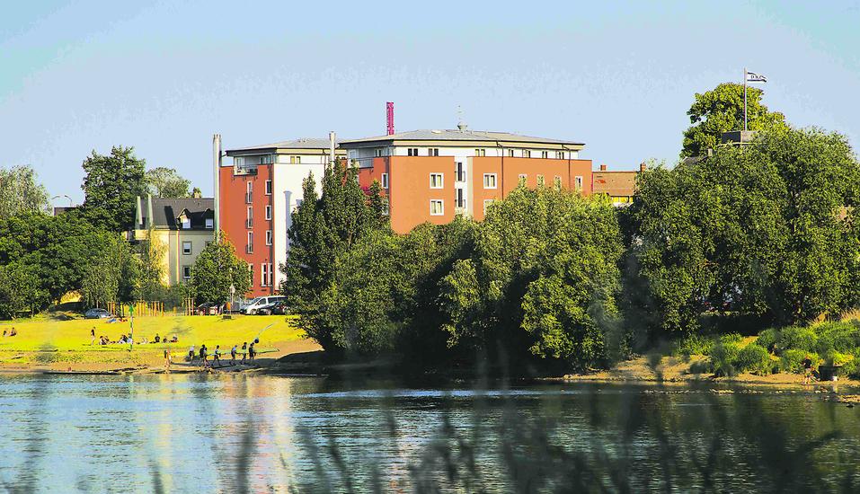 AMEDIA Hotel Dresden Elbpromenade, Aussenansicht