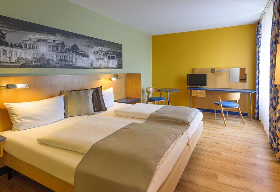AMEDIA Hotel Dresden Elbpromenade, Zimmerbeispiel