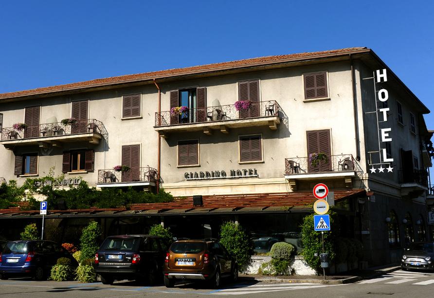 Hotel Giardino, Außenansicht