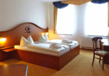 Hotel Goldner Loewe in Bad Köstritz, Zimmerbeispiel