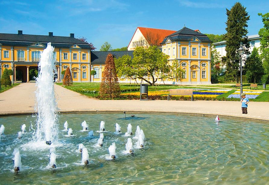 Staunen Sie über die Orangerie in Gera.