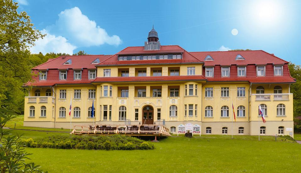 Ferien Hotel Villa Südharz, Herzlich willkommen