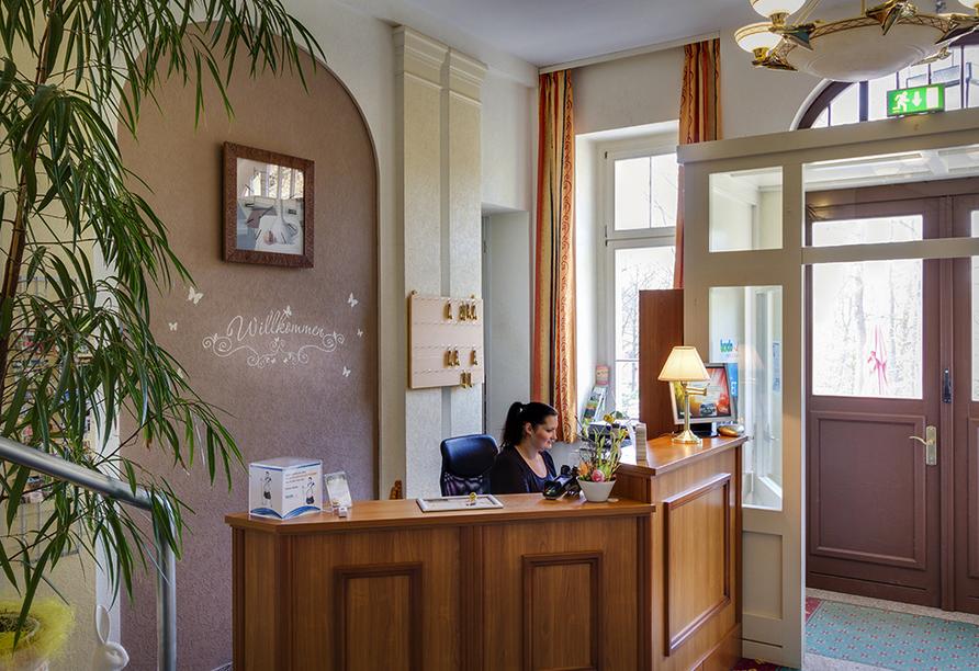Ferien Hotel Villa Südharz, Rezeption
