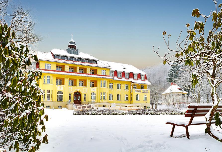 Ferien Hotel Villa Südharz, Winterland