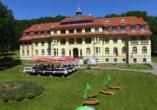 Ferien Hotel Villa Südharz, Außenansicht
