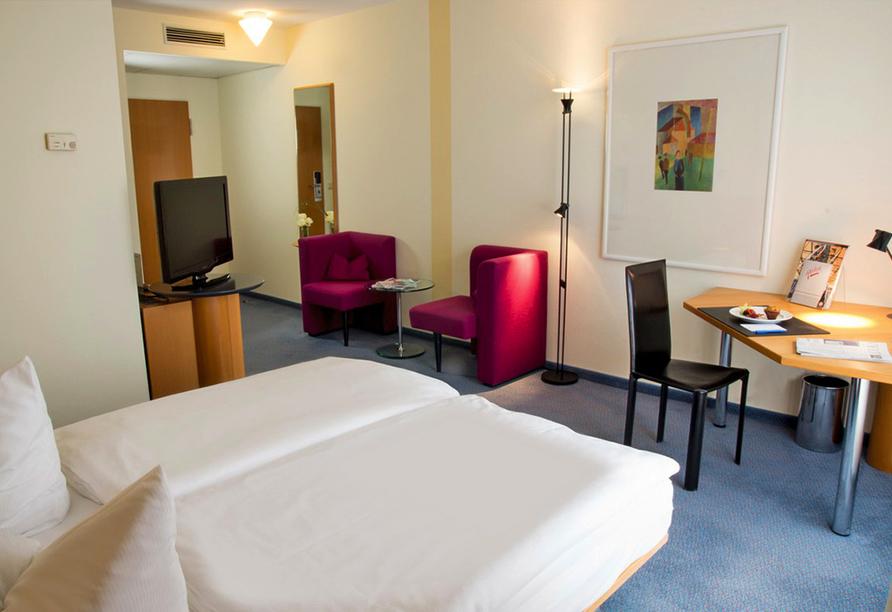 Atlanta Hotel International Leipzig, Zimmer