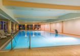 Hotel Krol Plaza Spa & Wellness in Jaroslawiec an der polnischen Ostsee, Hallenbad