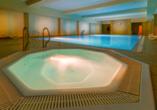 Hotel Krol Plaza Spa & Wellness in Jaroslawiec an der polnischen Ostsee, Whirlpool
