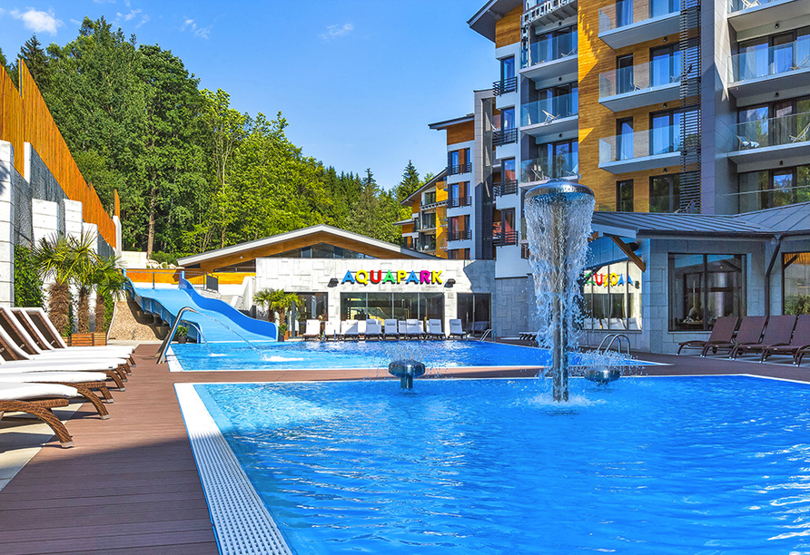 Blue Mountain Resort, Außenpool