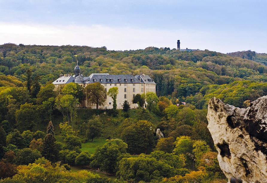 Berghotel Vogelherd, Großes Schloss Blankenburg
